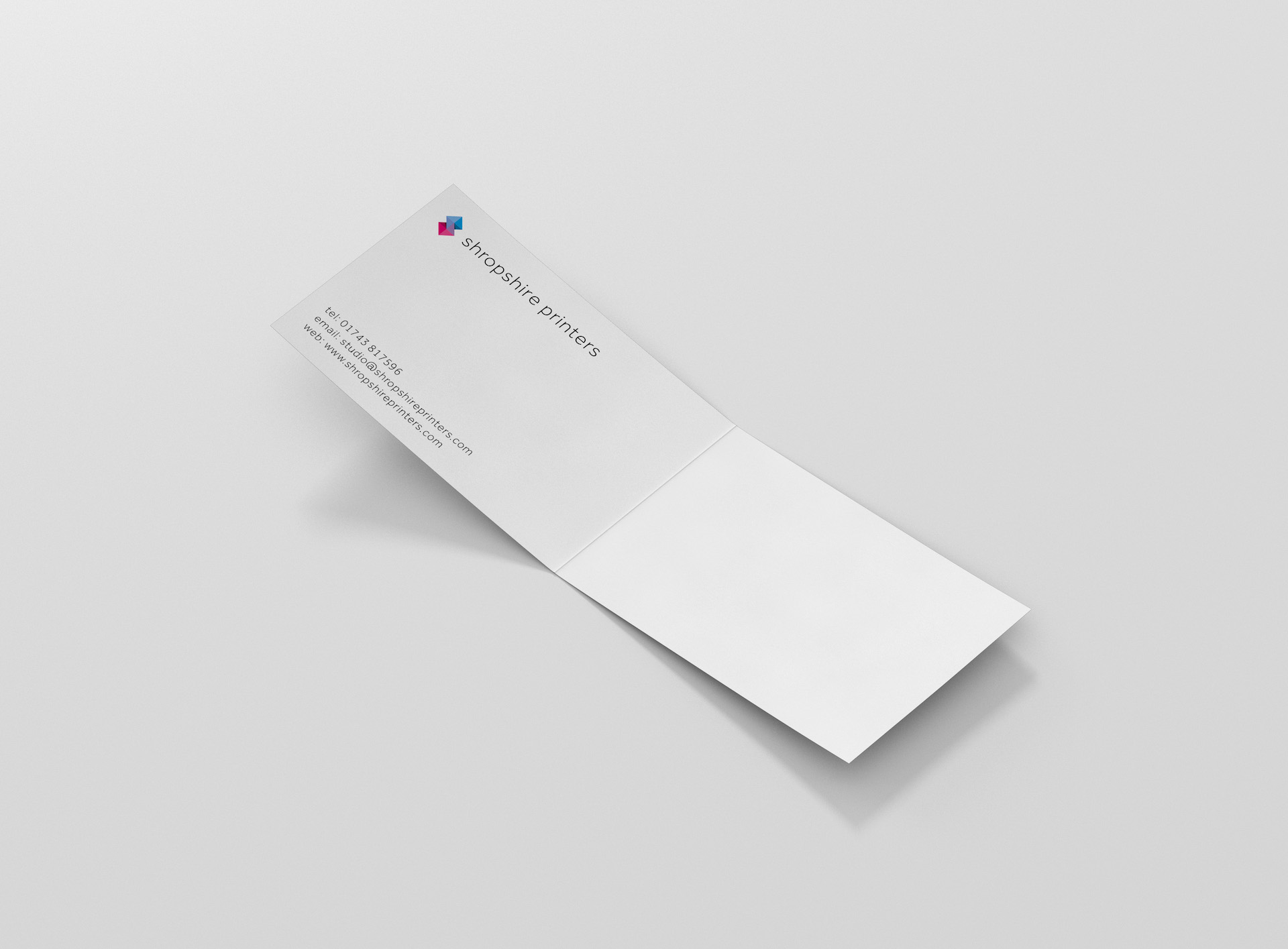 appointment loyalty cards shropshire printers