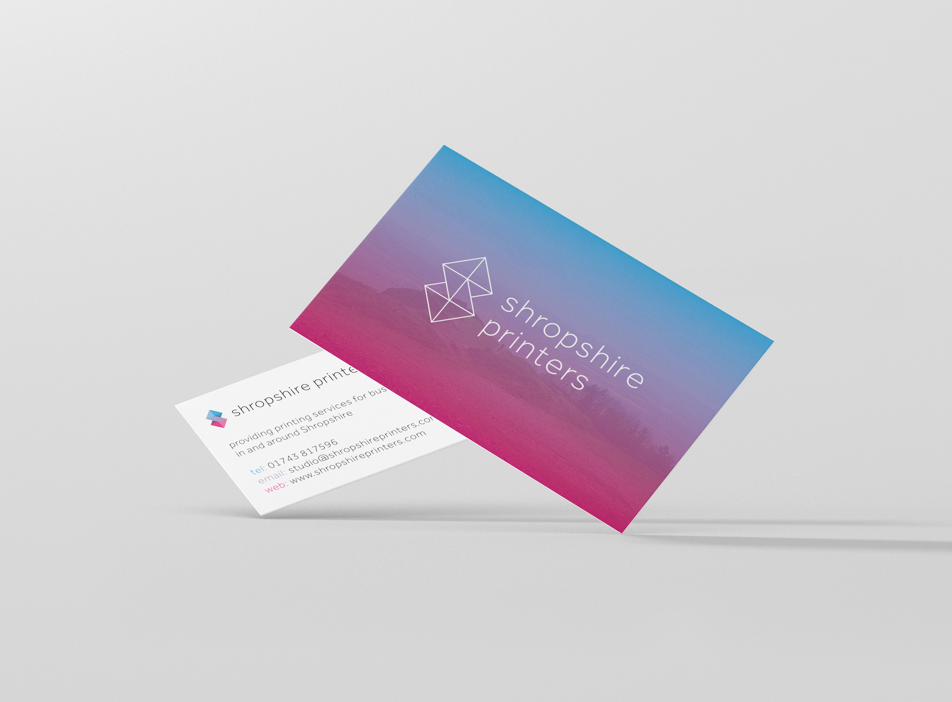 Business cards shropshire printers shropshire printers colourmoves
